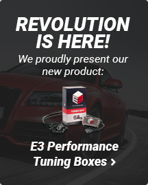 E3 Performance Tuning Boxes: more power and torque and reduced fuel consumption!